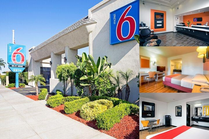 Motel 6 Newport Beach photo collage