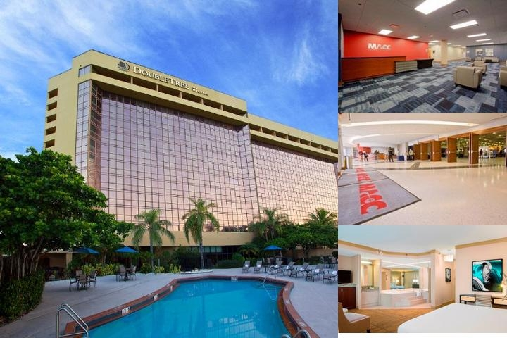 Sheraton Miami Mart Hotel photo collage