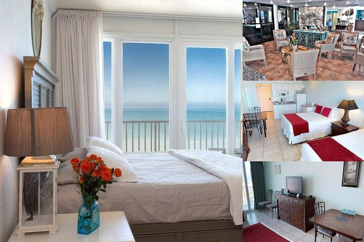 Island Inn Beach Resort photo collage