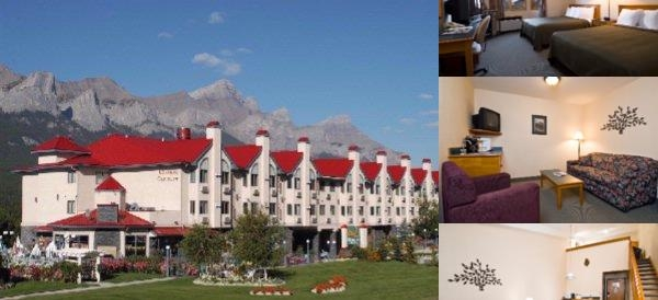 Quality Resort Chateau Canmore photo collage