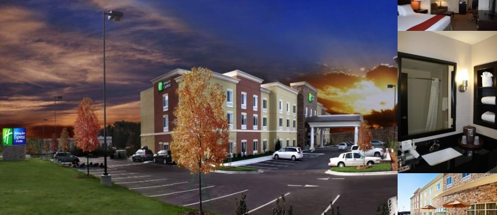 Holiday Inn Express Hotel & Suites Matthews East photo collage
