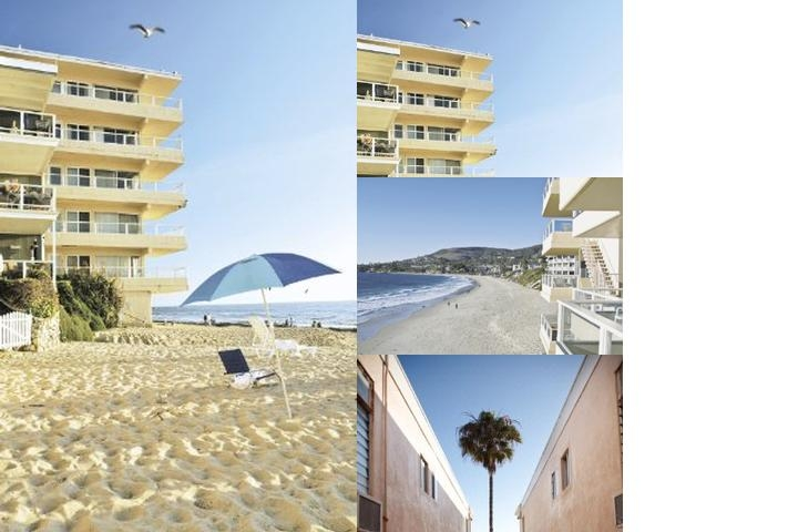 Pacific Edge Hotel photo collage