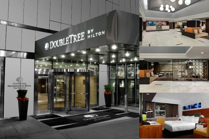Doubletree Metropolitan Hotel photo collage