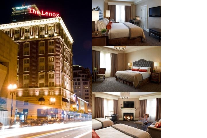 The Lenox Hotel photo collage