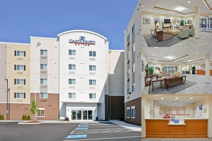 Candlewood Suites Portland Airport photo collage