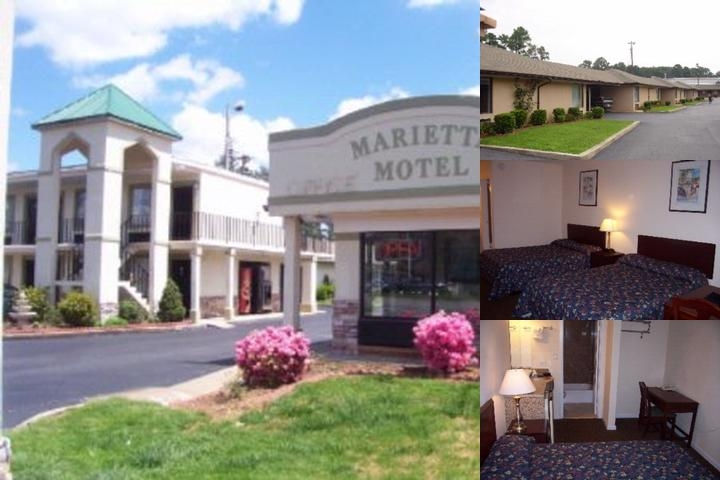Marietta Motel photo collage
