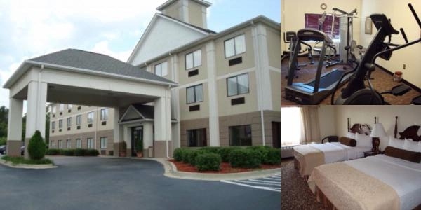 Best Western Fort Jackson Inn photo collage
