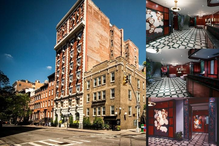 Washington Square Hotel photo collage