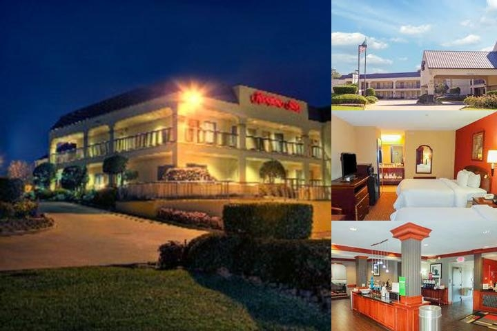 Hampton Inn Hotel photo collage