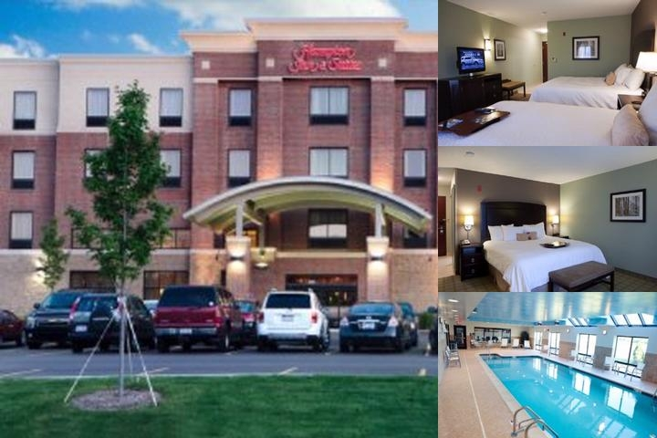 Hampton Inn & Suites Detroit Canton photo collage
