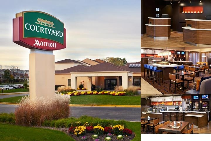 Arlington Heights South Courtyard by Marriott photo collage