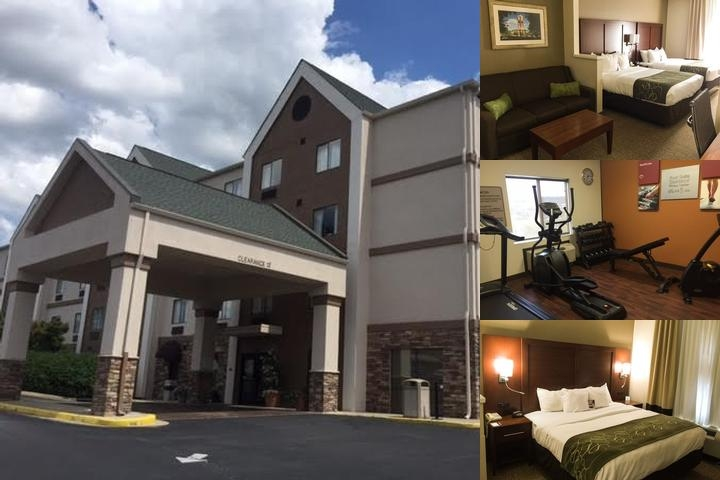 Comfort Suites Johnson City photo collage