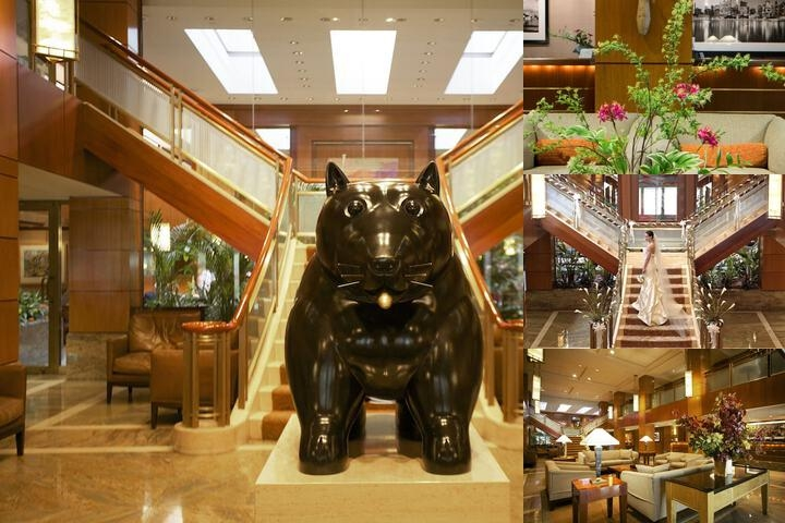 The Kitano Hotel New York photo collage