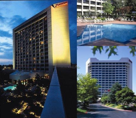 Nashville Airport Marriott photo collage