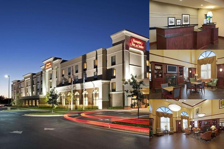 Hampton Inn & Suites Indianapolis Airport photo collage