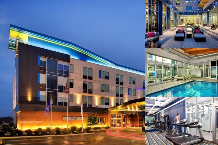 Aloft Green Bay photo collage