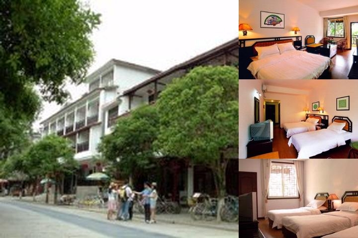 Yangshuo River View Hotel photo collage