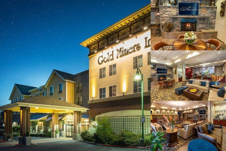 Gold Miners Inn Holiday Inn Express photo collage