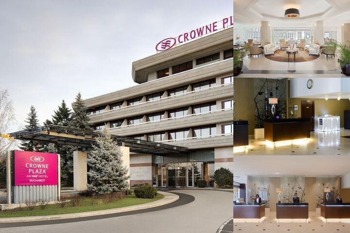 Crowne Plaza Hotel Bucharest photo collage