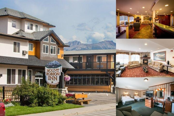 Mount Robson Inn photo collage