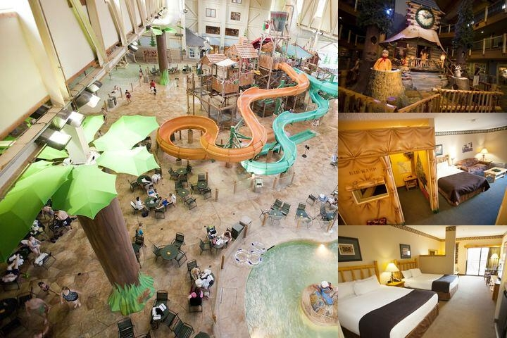 Great Wolf Lodge Williamsburg photo collage