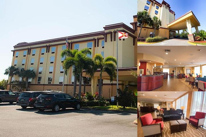 Comfort Suites Orlando Airport photo collage