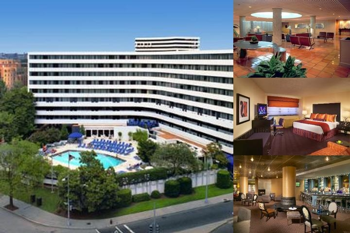 Washington Plaza Hotel photo collage