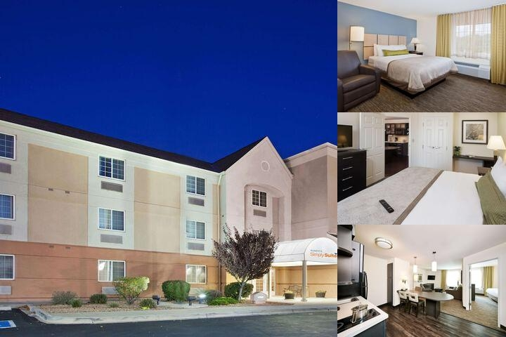 Candlewood Suites Albuquerque Midtown photo collage