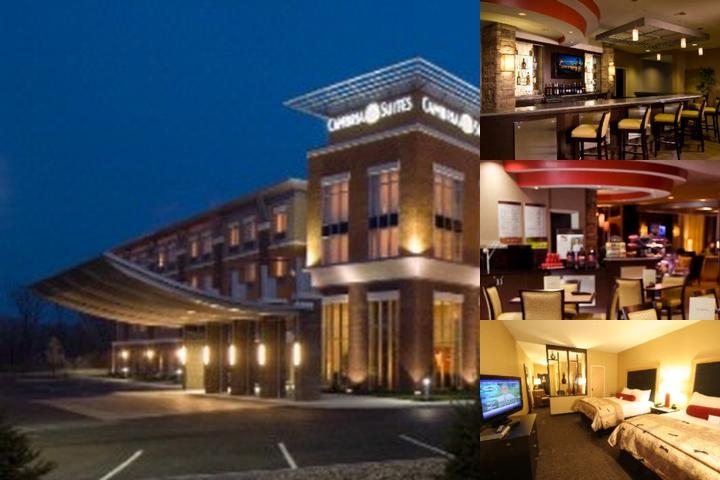 Cambria Suites Akron Canton Airport photo collage