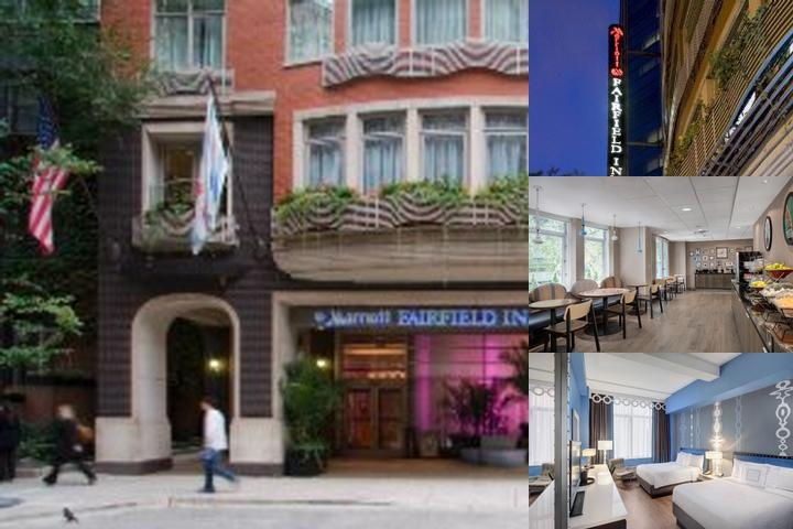 Fairfield Inn & Suites Chicago Downtown / Mag Mile photo collage
