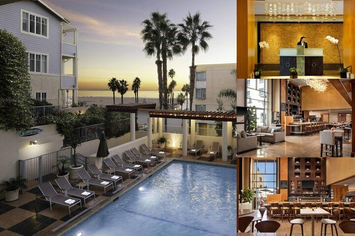JW Marriott Santa Monica Le Merigot Beach Hotel photo collage