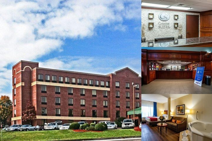 Comfort Suites Asheville photo collage