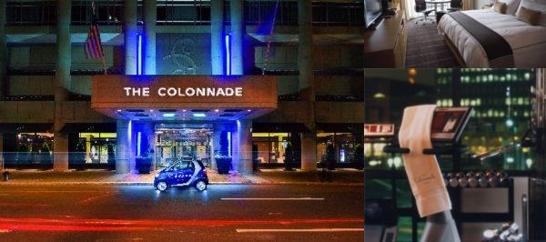 The Colonnade Hotel Back Bay photo collage