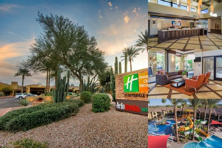 Zona Hotel & Suites Scottsdale photo collage