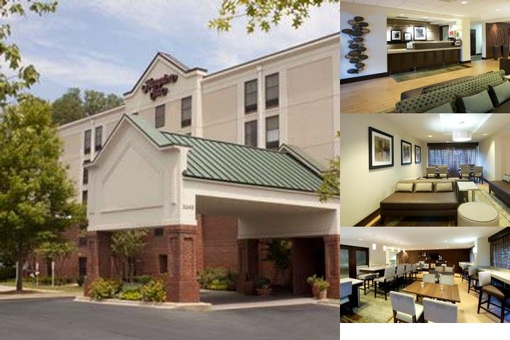 Hampton Inn Atlanta Mall of Georgia photo collage