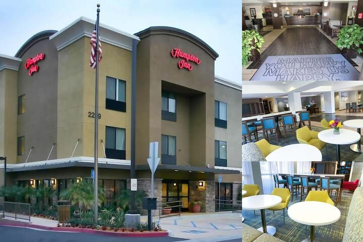 Hampton Inn Carlsbad photo collage