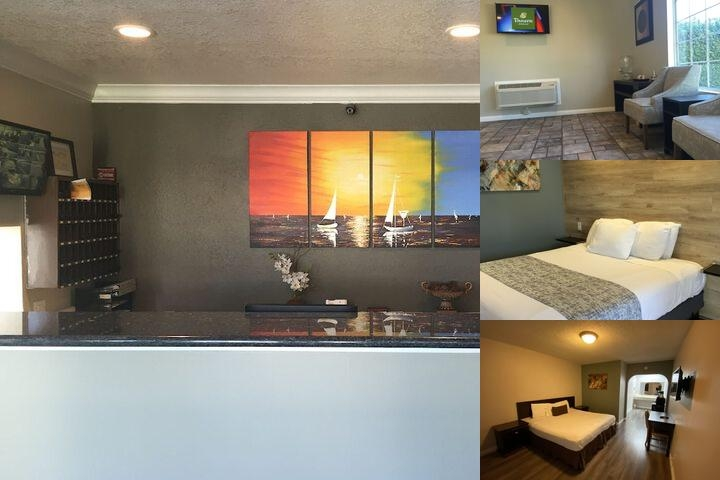 Anaheim Executive Inn & Suites photo collage