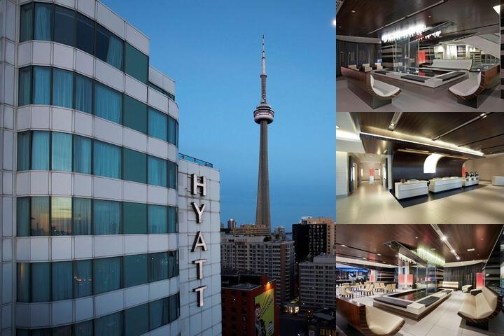Hyatt Regency Toronto photo collage