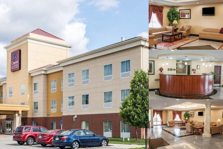 Comfort Suites Indianapolis photo collage