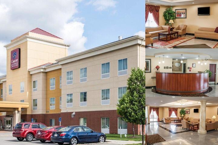 Comfort Suites Indianapolis Indianapolis In 2750 Fortune Circle