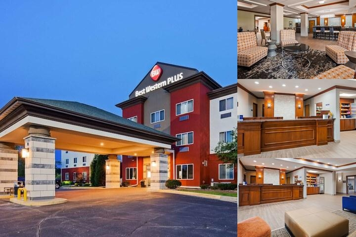 Best Western Plus Sparta Trail Lodge photo collage