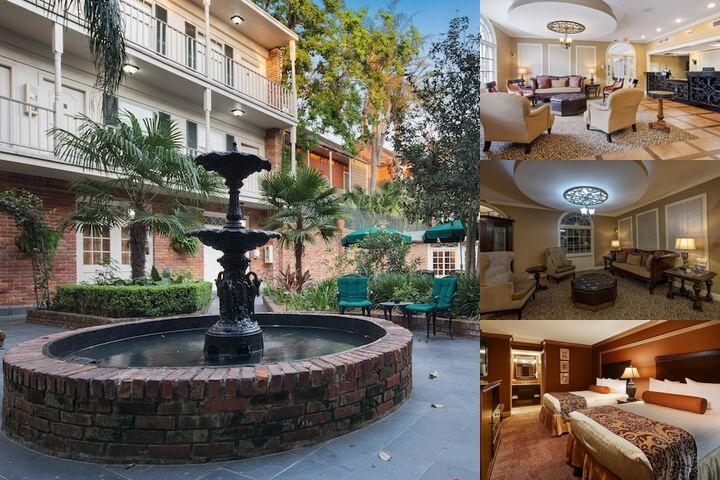 Best Western French Quarter Landmark Hotel photo collage