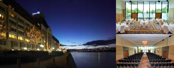 Hilton Vienna Danube Waterfront photo collage