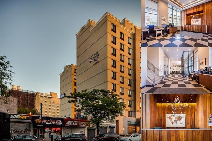 Best Western Plaza Hotel New York City photo collage