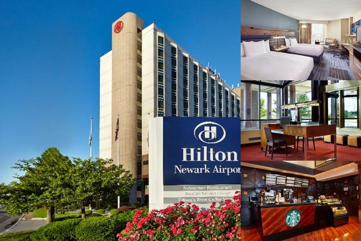 Hilton Newark Airport photo collage