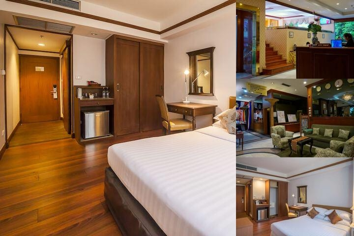 Silom City Hotel photo collage