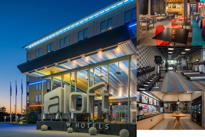 Aloft Rogers Bentonville photo collage