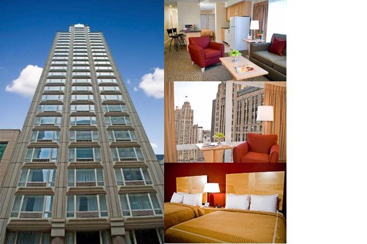 Comfort Suites Chicago photo collage