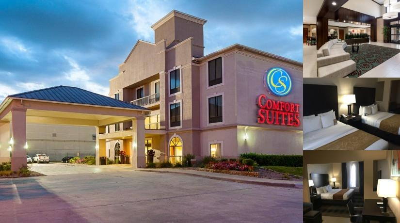 Comfort Suites Houston photo collage