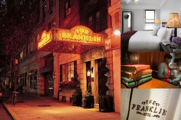 Franklin Hotel photo collage